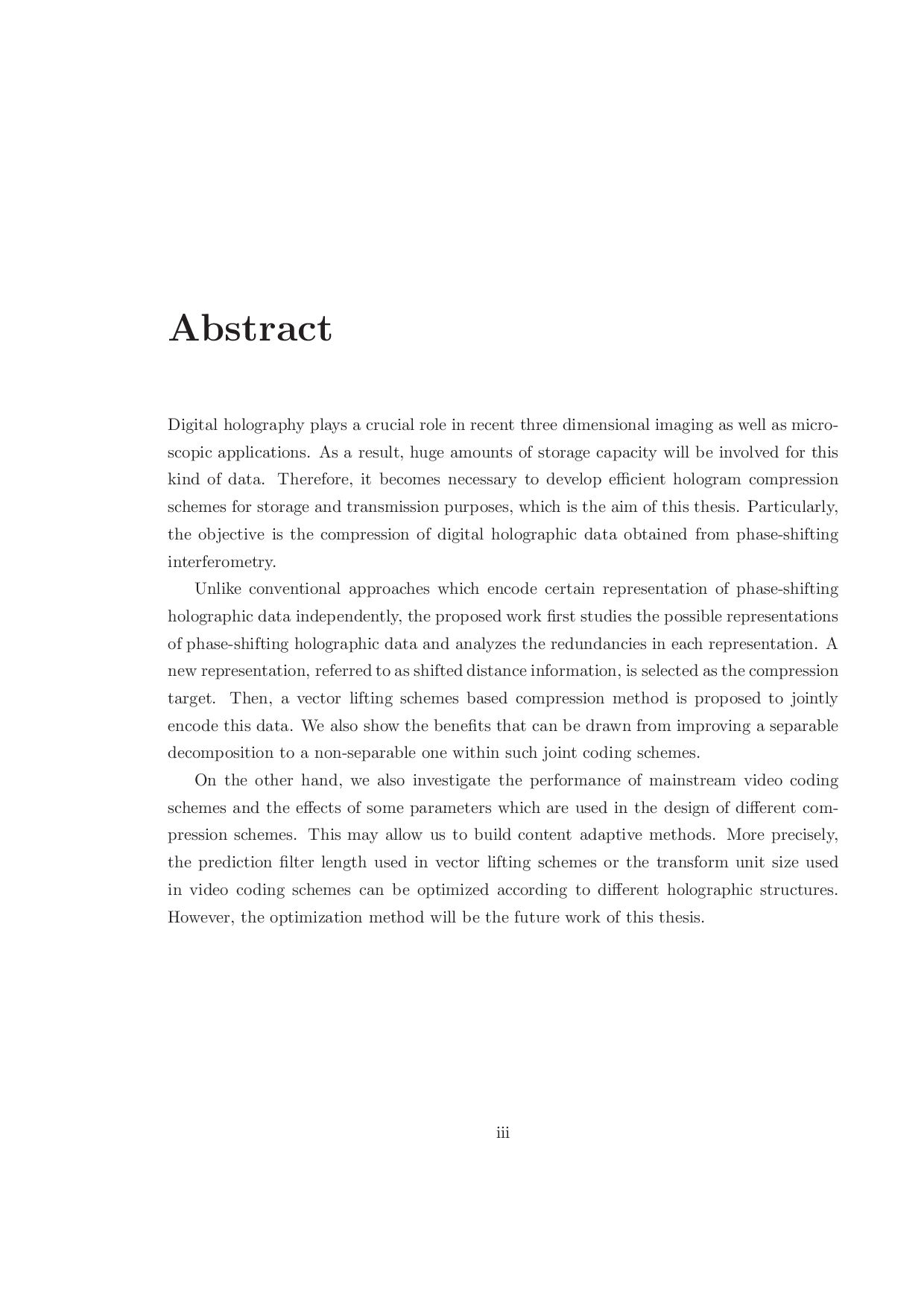 Thesis Statement For Education Essay First Few Pages  Click To Enlarge Essay For Health also Exemplification Essay Thesis Compression Methods For Digital Holographic Data  Eurasip Global Warming Essay In English