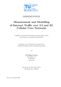 Thumbnail of Measurement and Modelling of Internet Traffic over 2.5 and 3G Cellular Core Networks