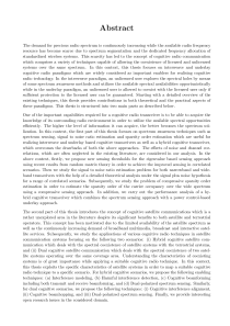 Thumbnail of page 2 of Interweave/Underlay Cognitive Radio Techniques and Applications in Satellite Communication Systems