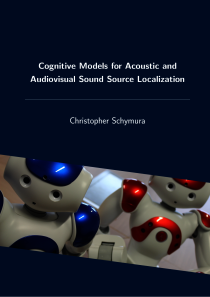 Thumbnail of page 1 of Cognitive Models for Acoustic and Audiovisual Sound Source Localization