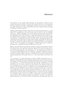 Thumbnail of page 2 of Transmission Strategies for Interfering Networks with Finite Rate and Outdated Channel Feedback