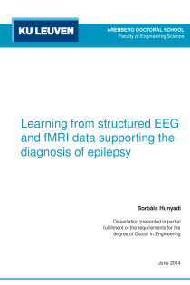 Thumbnail of Learning from structured EEG and fMRI data supporting the diagnosis of epilepsy