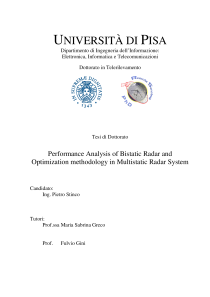 Thumbnail of Performance Analysis of Bistatic Radar and Optimization methodology in Multistatic Radar System