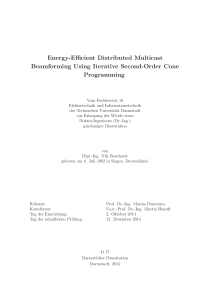 Thumbnail of page 1 of Energy-Efficient Distributed Multicast Beamforming Using Iterative Second-Order Cone Programming