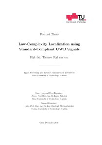 Thumbnail of Low-Complexity Localization using Standard-Compliant UWB Signals
