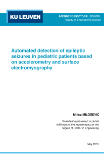 Thumbnail of Automated detection of epileptic seizures in pediatric patients based on accelerometry and surface electromyography
