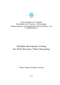 Thumbnail of page 1 of Multiple Description Coding for Path Diversity Video Streaming