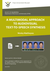 Thumbnail of A Multimodal Approach to Audiovisual Text-to-Speech Synthesis