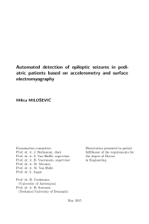 Thumbnail of page 3 of Automated detection of epileptic seizures in pediatric patients based on accelerometry and surface electromyography