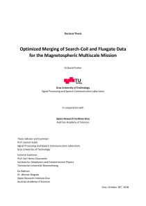Thumbnail of page 1 of Optimized Merging of Search-Coil and Fluxgate Data for the Magnetospheric Multiscale Mission