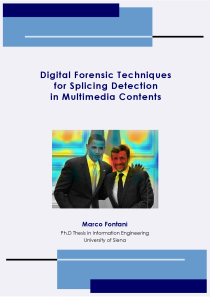 Thumbnail of Digital Forensic Techniques for Splicing Detection in Multimedia Contents