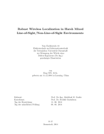 Thumbnail of Robust Wireless Localization in Harsh Mixed Line-of-Sight/Non-Line-of-Sight Environments