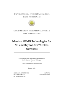 Thumbnail of Massive MIMO Technologies for 5G and Beyond-5G Wireless Networks