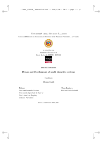 Thumbnail of page 3 of Design and development of multi-biometric systems