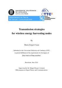Thumbnail of Transmission strategies for wireless energy harvesting nodes