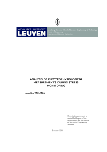 Thumbnail of Analysis of electrophysiological measurements during stress monitoring