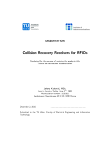 Thumbnail of Collision Recovery Receivers for RFIDs