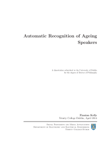 Thumbnail of Automatic Recognition of Ageing Speakers