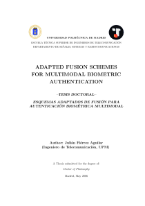 Thumbnail of Adapted Fusion Schemes for Multimodal Biometric Authentication