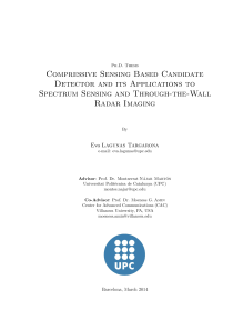 Thumbnail of Compressive Sensing Based Candidate Detector and its Applications to Spectrum Sensing and Through-the-Wall Radar Imaging