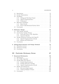 Thumbnail of page 4 of Parallel Dictionary Learning Algorithms for Sparse Representations