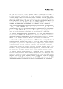 Thumbnail of page 3 of Behavioral Modeling and Digital Predistortion of Radio Frequency Power Amplifiers
