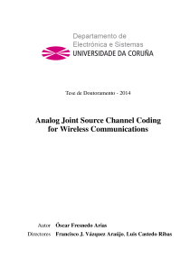 Thumbnail of Analog Joint Source Channel Coding for Wireless Communications