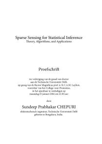 Thumbnail of page 3 of Sparse Sensing for Statistical Inference: Theory, Algorithms, and Applications