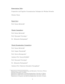 Thumbnail of page 3 of Cooperative and Cognitive Communication Techniques for Wireless Networks