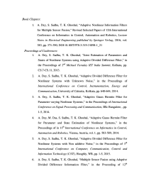 Thumbnail of page 3 of State and Parameter Estimation for Dynamic Systems: Some Investigations