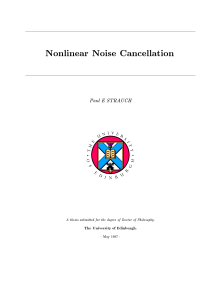 Thumbnail of Nonlinear Noise Cancellation