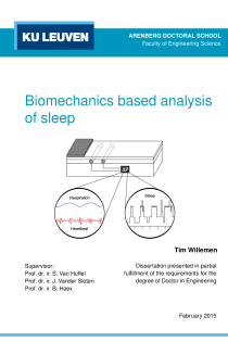 Thumbnail of Biomechanics based analysis of sleep
