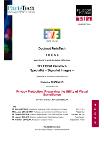 Thumbnail of page 1 of Privacy protection preserving the utility of visual surveillance