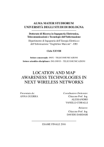Thumbnail of Location and map awareness technologies in next wireless networks