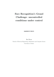 Thumbnail of Face Recognition's Grand Challenge: uncontrolled conditions under control