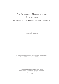 Thumbnail of An Attention Model and its Application in Man-Made Scene Interpretation