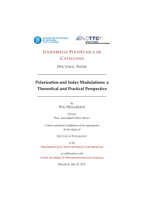 Thumbnail of Polarization and Index Modulations: a Theoretical and Practical Perspective