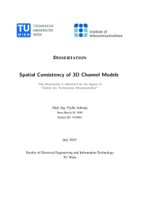 Thumbnail of Spatial Consistency of 3D Channel Models