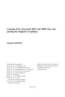 Thumbnail of page 3 of Learning from structured EEG and fMRI data supporting the diagnosis of epilepsy