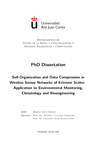 Thumbnail of page 1 of Self-Organization and Data Compression in Wireless Sensor Networks of Extreme Scales: Application to Environmental Monitoring, Climatology and Bioengineering