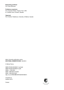 Thumbnail of page 3 of Contributions to Analysis and Mitigation of Cochannel Interference in Cellular Wireless Networks