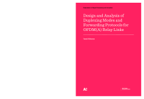 Thumbnail of page 1 of Design and Analysis of Duplexing Modes and Forwarding Protocols for OFDM(A) Relay Links