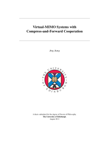 Thumbnail of Virtual-MIMO Systems with Compress-and-Forward Cooperation