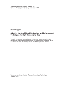 Thumbnail of page 2 of Adaptive Nonlocal Signal Restoration and Enhancement Techniques for High-Dimensional Data
