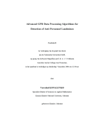 Thumbnail of page 3 of Advanced GPR data processing algorithms for detection of anti-personnel landmines