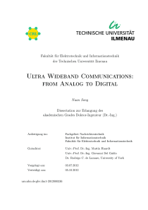 Thumbnail of page 3 of Ultra Wideband Communications: from Analog to Digital