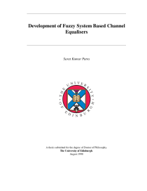 Thumbnail of Development of Fuzzy System Based Channel Equalisers