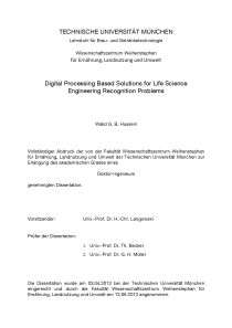 Thumbnail of Digital Processing Based Solutions for Life Science Engineering Recognition Problems
